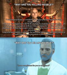 """When New Vegas made you understand the actions of a Fascist but Fallout 4 is just like """"Dw bout it"""" #Fallout4 #gaming #Fallout #Bethesda #games #PS4share #PS4 #FO4"""