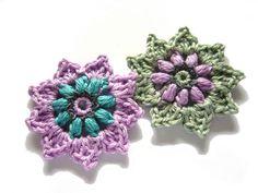 ○ Häkelblumen ○ von crochet.jewels auf DaWanda.com
