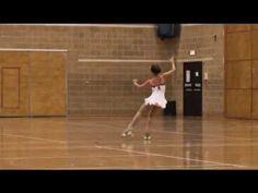 Artistic Roller Skating - Dani Hayon, Black Swan Free Dance, British Artistic Roller Skating Championships 2012