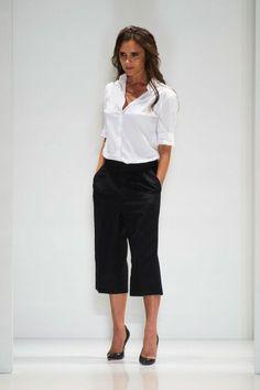 Pantalón culotte: la inspiración