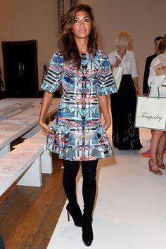 London Fashion Week Front Row | Harper's Bazaar