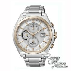 Citizen Mens Lingray Exclusive Titanium Chronograph Watch - CA0356-55  RRP: £280.00 Online price: £159.00 You Save: £121.00 (43%)  www.lingraywatches.co.uk