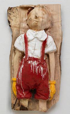 ジム·ダイン・マイエンジェル、2006。木材中の58×32×14エナメル | 'My Angel' by Jim Dine, 2006. Enamel on…