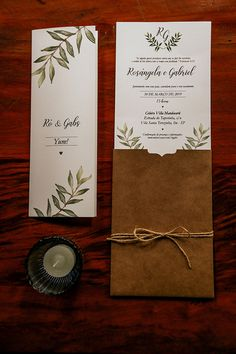 Casamento rústico romântico cheio de alegria no Villa Mandacarú - Rô & Gabriel - - Wedding Cards, Diy Wedding, Wedding Gifts, Dream Wedding, Wedding Day, Country Wedding Invitations, Rustic Invitations, Wedding Invitation Templates, Marry Me