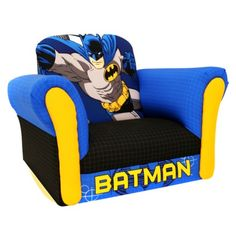 Kids Batman Deluxe Rocker - Blue/Black $59.89