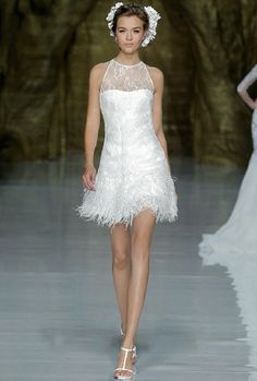 Short wedding dress - would you? #weddingdress #wedding #trendingnow #shortdress