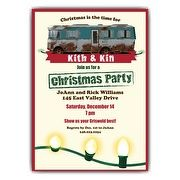 RV Christmas Party Invitations