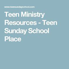 Resources Teen Sunday 27