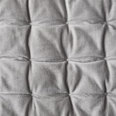 RH Baby & Child's Box-Tufted Velvet Quilt:Reminiscent of tufted upholstery, our cozy bedding is quilted in a grid accented with bright white thread. Lush cotton velvet has been washed for an extra-soft hand. Toddler Pillowcase, Toddler Quilt, Daybed Bedding, Nursery Bedding, Rh Baby, Velvet Quilt, Natural Bedding, Bedding Sets Online, Crib Skirts