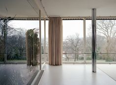 "federicotorra: ""Mies van der Rohe - Villa Tugendhat, interior windows (more inside) """