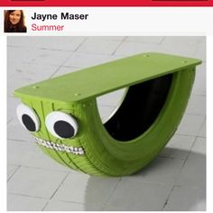 This is awesome! great for kids who constantly fidget.