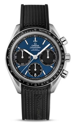 UK Omega Speedmaster Racing Blue Dial Copy Watches