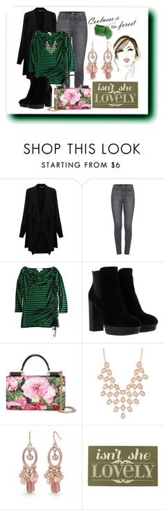 """Roses In The Forest"" by misself765 ❤ liked on Polyvore featuring Lauren Ralph Lauren, Paige Denim, Michael Kors, Hogan, Dolce&Gabbana, Charlotte Russe, Kim Rogers and Home Decorators Collection"