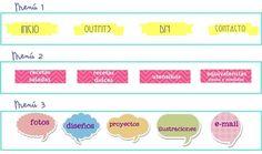 Tutorial para el blog: cambia las pestañas por un menú personalizado