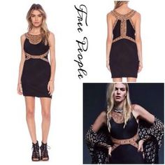 Free People Dresses & Skirts - FP Embroidered Bodycon Dress
