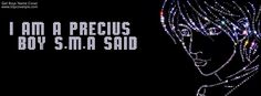 Name Cover of i am a precius