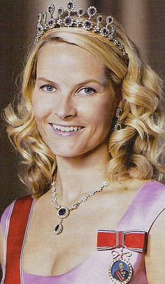Crown Princess Mette-Marit and the Amethyst tiara
