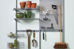 Rydde garasje og bod: Fra kaos til kontroll på tre steg - Byggmakker Kitchen Cart, Home Decor, Homemade Home Decor, Kitchen Utility Cart, Kitchen Carts, Decoration Home, Interior Decorating