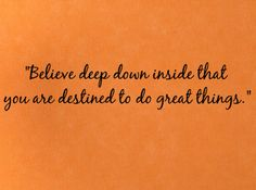 Believe Deep Down Inside II Wall Decals - Trading Phrases