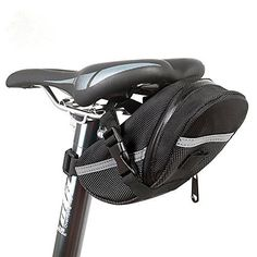 KOLPCTT Waterproof Mountain Bicycle Rear Seat Pack, Bike Saddle Bag / Handlebar Bag / Strap-on Bag / Toolkit, Black - http://mountain-bike-review.net/products-recommended-accessories/kolpctt-waterproof-mountain-bicycle-rear-seat-pack-bike-saddle-bag-handlebar-bag-strap-on-bag-toolkit-black/ #mountainbike #mountain biking