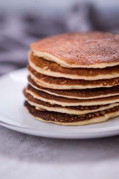 Low Carb Keto Pancakes Recipe with Almond Flour - Gluten Free