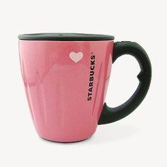 pink Starbucks mug