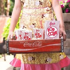 Perfect for backyard carnivals, school fundraisers, or movie nights, these vintage style concession supplies are sure to evoke a sense of nostalgia and delight Twin Birthday, Circus Birthday, Circus Party, 1st Birthday Parties, Themed Parties, Birthday Ideas, Popcorn Supplies, Party Supplies, Popcorn Bar