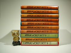 The Annual Words Best SF, 1970s-1980s, Edited by Donald A. Wollheim, Set of 10 vintage sci fi