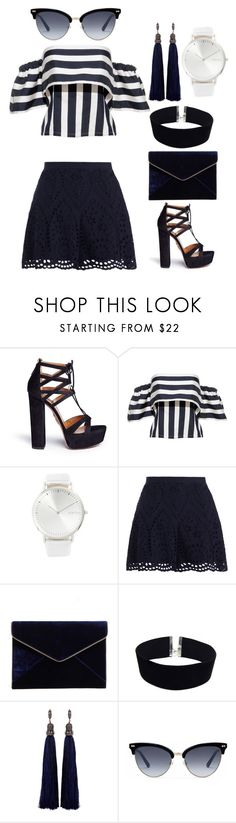 """""""155"""" by kwiek ❤ liked on Polyvore featuring Aquazzura, RumbaTime, Zimmermann, Rebecca Minkoff, Haus of Deck, Lanvin and Gucci"""