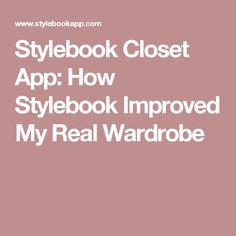 Stylebook Closet App: How Stylebook Improved My Real Wardrobe