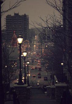 The Plaza, Kansas city, Missouri Kansas City Missouri, City Aesthetic, Night City, City Photography, Photography Lighting, Autumn Photography, City Lights, Street Lights, Night Lights