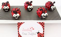Ladybug Guest Dessert Feature | Amy Atlas Events