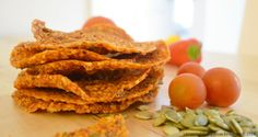 Raw Living Italian Style Pizza Crackers  recipe:  http://blissroots.com/raw-living-italian-style-pizza-crackers/