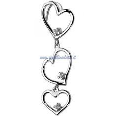 Ciondolo Cuore Comete Gioielli COB138 Fantasie di Diamante http://www.gioiellivarlotta.it/product.php?id_product=570