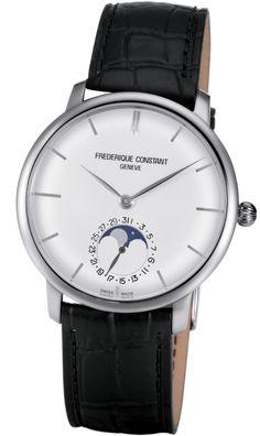 Frederique Constant - Slimline Moonphase FC-705S4S6