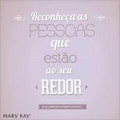 """#FACAMESENTIRIMPORTANTE: Mary Kay Ash uma vez disse: """"É tão simples e causa um grande impacto. Imagine que cada pessoa que encontrar tem uma placa em volta do pescoço que diz: Faça-me sentir importante."""" Na Mary Kay isso é uma realidade — desde ser reconhecido por um trabalho bem feito até contar com a amizade de pessoas que se preocupam com você."""