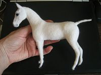Needle Felting Horse Tutorial
