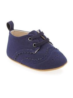 new baby boy  shoes Oxford Slip-Ons old navy size 0-6 3-12 18 month navy blue  #OldNavy #Oxfords