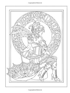 Creative Haven Steampunk Fashions Coloring Book (Creative Haven Coloring Books): Marty Noble: 9780486797489: Amazon.com: Books