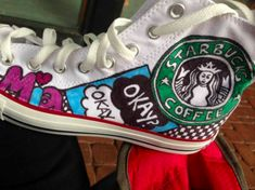 Artist Alyssa Reise will customize canvas sneakers for Bar and Bat Mitzvah guest of honors free of charge. Bat Mitzvah Dresses, Custom Canvas, Bar Mitzvah, Custom Sneakers, Sweet Sixteen, Chuck Taylor Sneakers, Quinceanera, Party Ideas, Celebrities