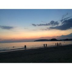 beautiful view #sunset #awesome #beach #adventure #krabiislandbeach #aonang #zirajourney by zirahazman