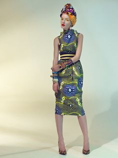 African Sweetheart: Fashion: Stella Jean Unveils Stunning Spring/Summer 2013 Collection