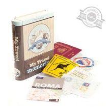 Scatola Travel Memories per ricordare i viaggi più belli! http://www.regali.it/regali-per-mamma