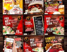 Food Graphic Design, Food Poster Design, Food Logo Design, Logo Food, Menu Design, Design Ideas, Social Media Art, Social Media Poster, Social Media Banner