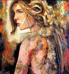 La lionne - Céline Brossard - Galerie d'art Iris, Baie-Saint-Paul - Charlevoix