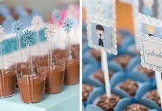 doces festa tema frozen