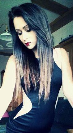 sama girl <3 Blood, Long Hair Styles, Beauty, Fashion, Beleza, Moda, La Mode, Long Hair Hairdos, Cosmetology