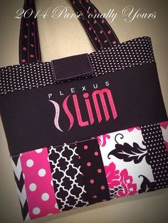 Plexus Slim Business Builder Purse Bag by purse4you on Etsy, $54.00. I ordered this bag and I am sooo beyond impressed with the quality and durability of it!! And I've already gotten tons of questions about plexus from it.