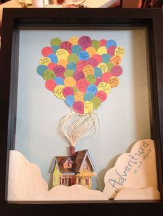 """Adventure is Out There. A way of saying """"Farewell"""" to a co-worker. - DIY and Crafts 2019 Goodbye Gifts For Coworkers, Farewell Gift For Coworker, Farewell Gifts, Farewell Card, Moving Away Parties, Craft Gifts, Diy Gifts, Goodbye Cards, Going Away Presents"""