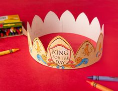 Printable Father's Day Crown